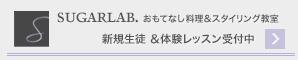 SugarLab.レッスン新規募集